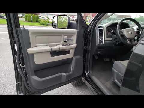 2010 DODGE RAM 1500 4WD QUAD CAB SLT