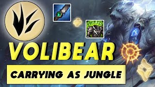 REWORKED VOLI JUNGLE IS TOO STRONG | Volibear Jungle Guide