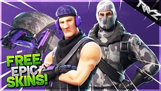 *NEW* FREE LEGENDARY & EPIC SKINS in Fortnite Battle Royale! Fortnite UPDATE V.3.2.1 (Fortnite PS4)