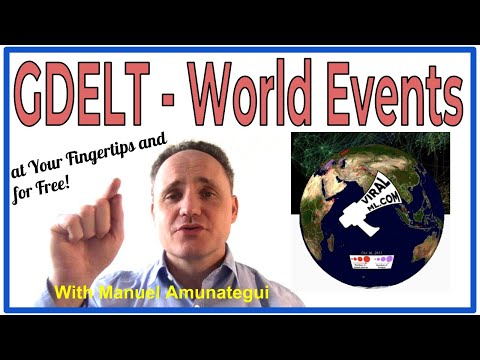 GDELT - World Events at Your Finger Tips and for Free with Google's BigQuery!