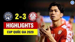 Highlights Bà Rịa Vũng Tàu - TP. Hồ Chí Minh   Công Phượng tỏa sáng ghi dấu ấn trong cả 3 bàn thắng