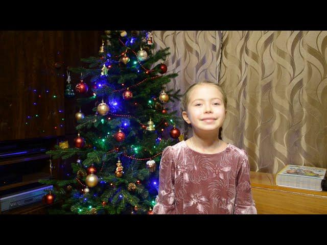 Изображение предпросмотра прочтения – АнастасияПарыгина читает произведение «Рождественское» С.Чёрного