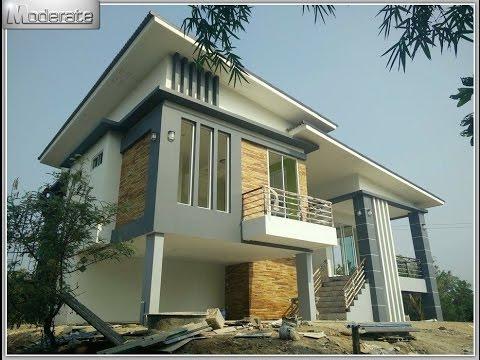 แบบบ้านโมเดิร์นชั้นเดียว รองรับแผ่นดินไหว จ.กาญจนบุรี