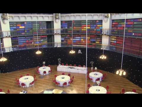 Time-lapse Video of a Wedding Set Up in The Octagon at Queen Mary University of London