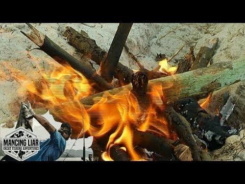 Bermain Api Unggun di Pinggir Pantai - Mancing Liar (17/6)