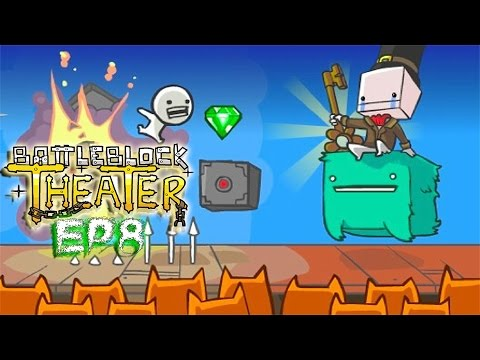 BattleBlock Theater! - Co-op w/ H2O Delirious (Into the Cat-Mouth!) (EP8)