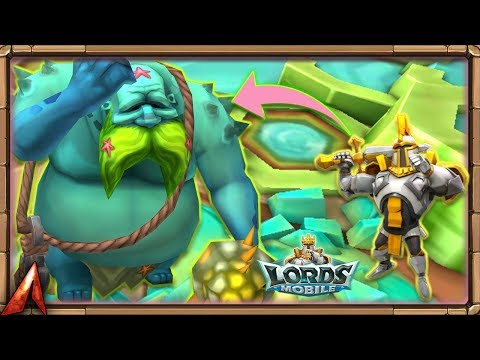 How To Hunt Tidal Titan! Gold Heroes Or Not!? Lords Mobile