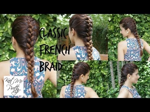 French Braid Your Own Hair
