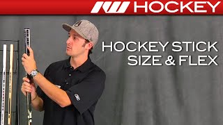 Hockey Stick Size & Flex