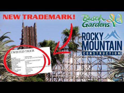 Twisted Tiger - RMC Gwazi CONFIRMED?! Busch Gardens Tampa Trademark Filing