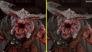 Video Doom Nintendo Switch vs PS4 Graphics Comparison download MP3, 3GP, MP4, WEBM, AVI, FLV Juni 2018