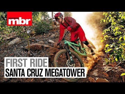 Santa Cruz Megatower | First Look | Mountain Bike Rider