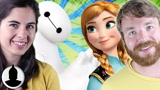 Big Hero 6 And The Secret Family Tree - The Disney Universe Theory - Cartoon Conspiracy (Ep. 31)