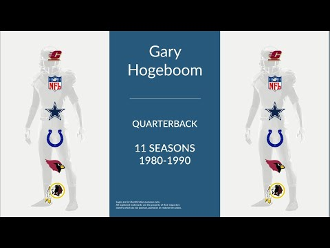 Gary Hogeboom: Football Quarterback