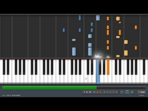 Coldplay  Charlie Brown  Adrian Lee Version piano tutorial