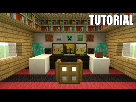 Minecraft Tutorial: How To Make The ULTIMATE MINECRAFT GAMING SETUP!!