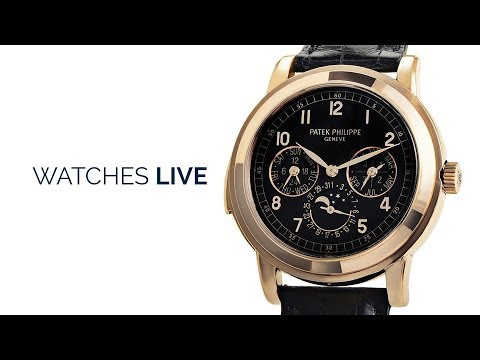 Watches Live: Calendar Watches: Patek Philippe; Lange; IWC: