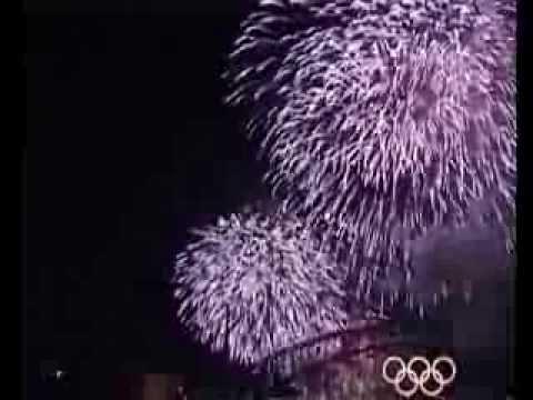 Sydney 2000 Olympics Closing Fireworks