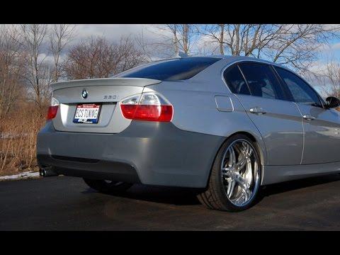 как снять задний бампер BMW E90 E91 M3