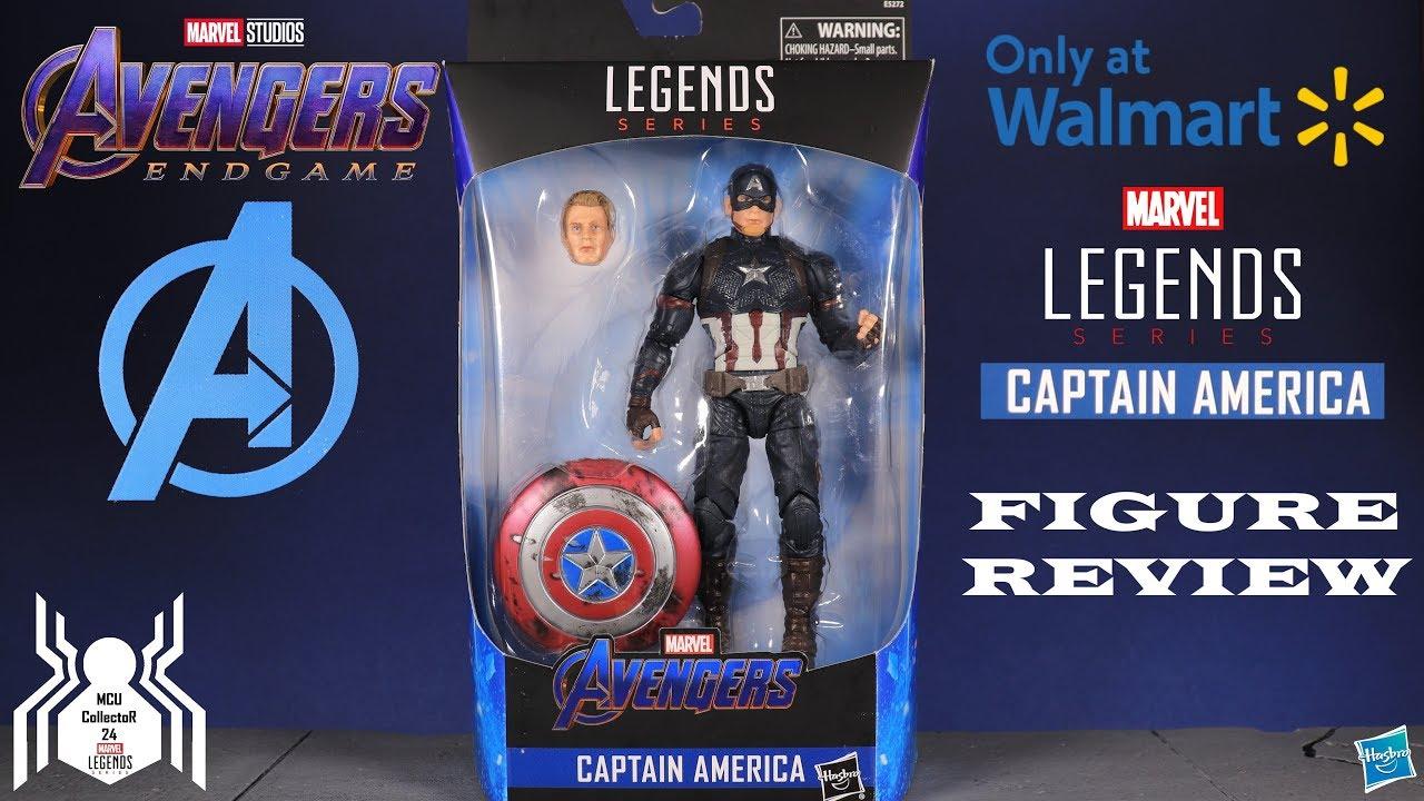 "Marvel Legends Avengers Endgame Wave 3 CAPTAIN AMERICA Loose 6/"" Figure Hasbro"