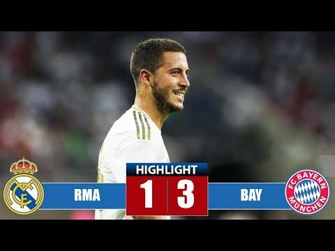 Rеаl Маdrid vs Bayern Munісh 1-3 Highlights & Goals   Resumen y Goles (21/07/2019)