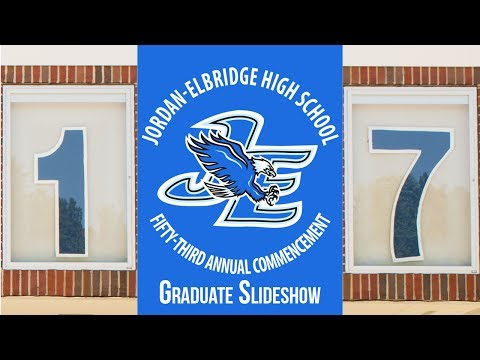 Jordan Elbridge High School Class of 2017 Video board slideshow