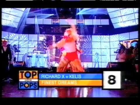 Richard X vs Kelis - Finest Dreams TOTP appearance