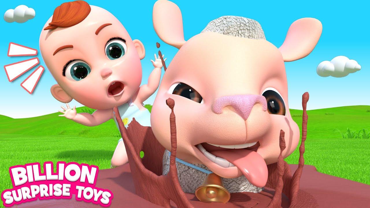 Baa Baa Black Sheep | BillionSurpriseToys -- Educational Nursery Rhymes & Kids Songs