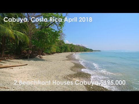 Cabuya 2 Beachfront Houses for Sale $195.000