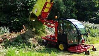 Минитрактор для коммунальных служб Gianni Ferrari Turbo. Обзор.