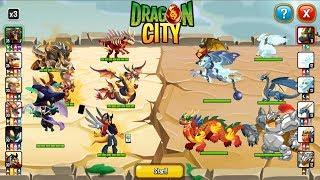 🐲6 RỒNG Heroic Hấp Diêm 6 Rồng Thường - Dragon City Game Mobile Android, Ios