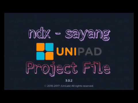 (Unipad)NDX AKA - Sayang | AutoPlay + Project file