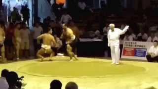RUS vs MGL Sumo World Championships 2015
