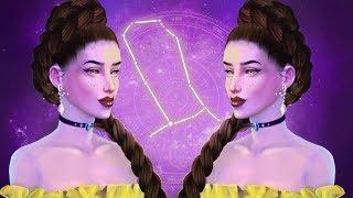 Gemini - Zodiac CAS  THE SIMS 4