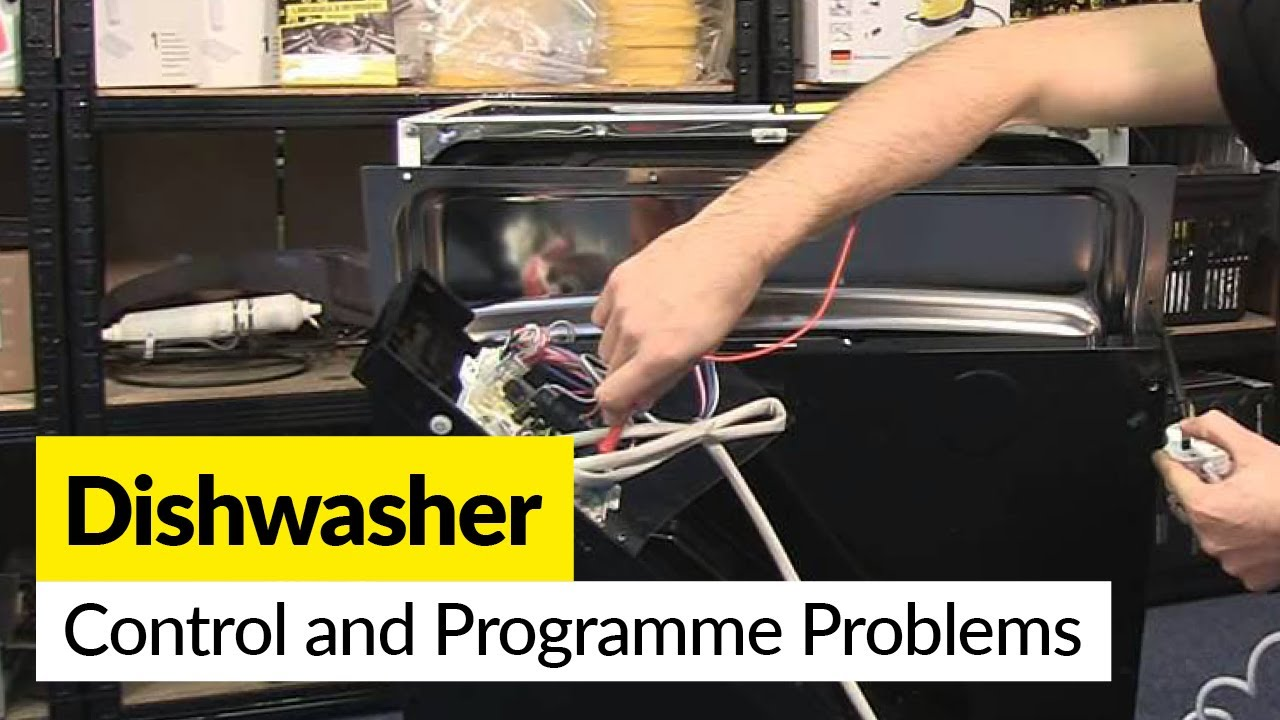 How To Diagnose Control And Programme Problems With A Dishwasher Circuit Board Timer Wb27x425 Repaircliniccom