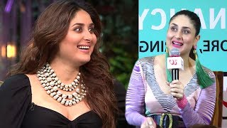 Kareena Kapoor On Losing FAT Gained When Pregnant With Baby Taimur