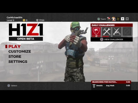CarMichael914 Gaming with FriendsH1Z1