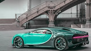 Gambar cover Eminem's Lucky you ft. Bugatti Chiron overview