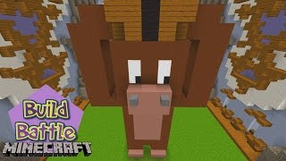 Minecraft Build Battle - KING KONG E MONSTRO