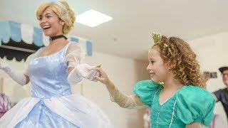 VALENTINA NO CHÁ DAS PRINCESAS Ariel,Cinderela,Elsa,Rapunzel,Branca de Neve e Aurora