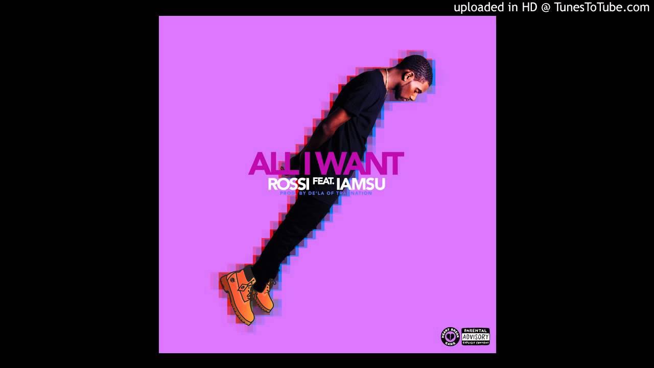 Rossi Feat  Iamsu - All I Want (Acapella) | 98 BPM