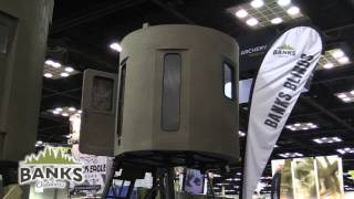 Banks Outdoors | Stump Blinds and Office Chair | 2017 ATA Show | Hunt The Break