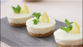 No-Bake Lemon Cheese Cake 免烤柠檬乳酪蛋糕