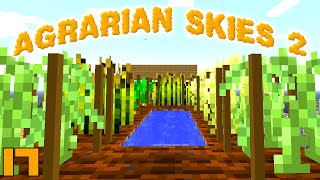 Minecraft Mods Agrarian Skies 2 - AGRICRAFT !!! [E17] (Modded Skyblock)