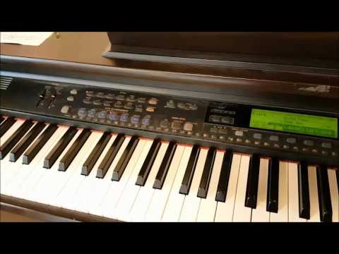 govdeals yamaha clavinova cvp 201 digital piano youtube. Black Bedroom Furniture Sets. Home Design Ideas