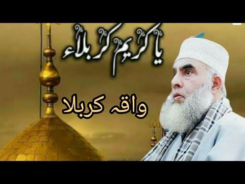 Molana Mushtaq Ahkhan Shazadai karbala Part 3