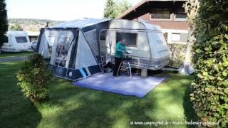Der Campingplatz Höhencamping in Langenbrand Schömberg