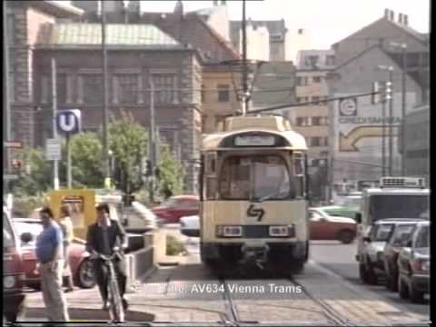 Vienna Trams In Kärntner Ringoper In June 1987 Youtube
