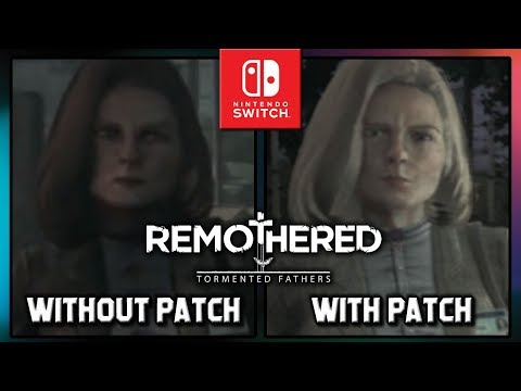Remothered: Tormented Fathers   Graphics Comparison With Patch On Switch
