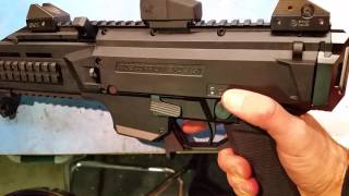 cz scorpion evo 3 s1 apex tactical safety quick look
